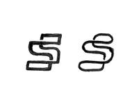 Supercar logo sketches