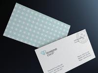 Diamond coco business card