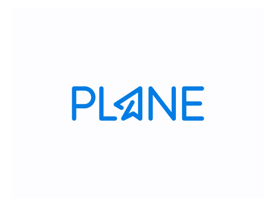 Plane Logo Design inspiration airplane fly design logo popular identity modern wordmark plane logotype motion animation