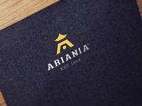 Ariania Logo Design