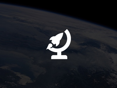 Rocket Planet Logo / Symbol Design