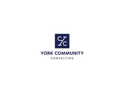 York Community Consulting Logo Design