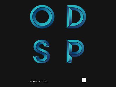 ODSP 2020 Sweater microsoft logo branding typography