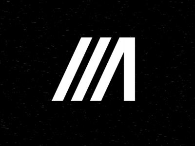 M2 work in progress typography logo