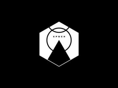 Epoch badge monochromatic typography minimal
