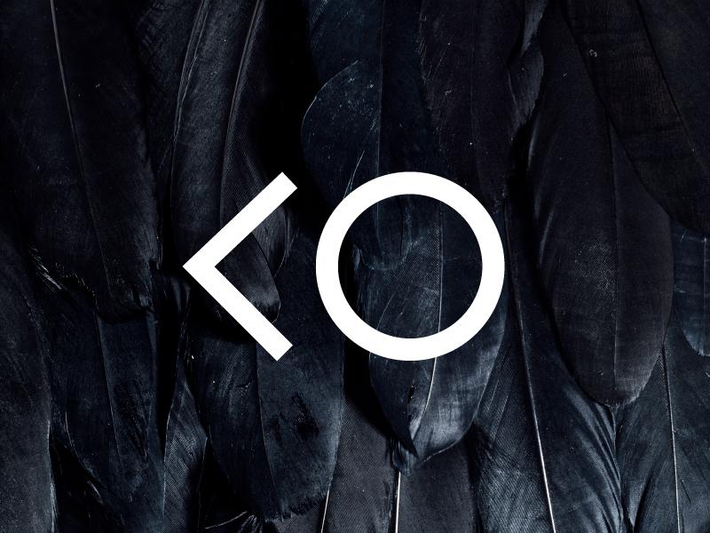 Urban Ornithology geometric texture monochromatic logo minimal