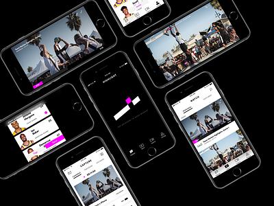 PEEQ Video interaction design visual design ui ux design ux