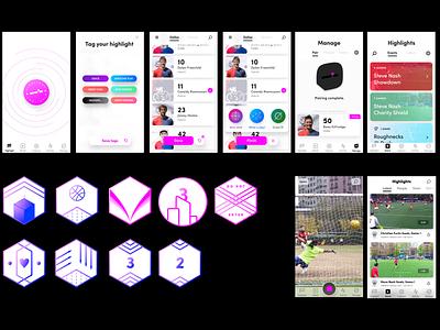 PEEQ Badges (Now With Context!) visual design ux design ux ui design ui