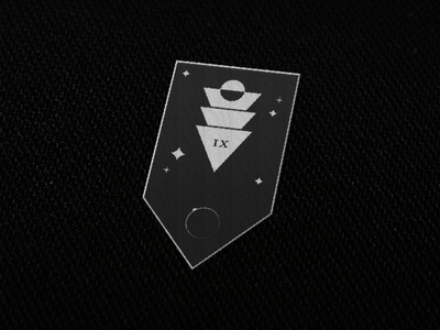 Unknown Space patch design illustration destiny logo patch