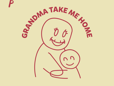 Grandma take me home by Yaumil Putra