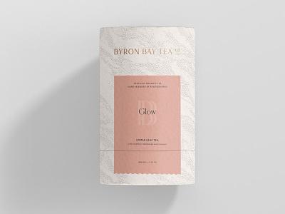 Byron Bay Tea Packaging Concept pattern nautical australian minimal tea packaging packaging brand logo tea logo tea branding