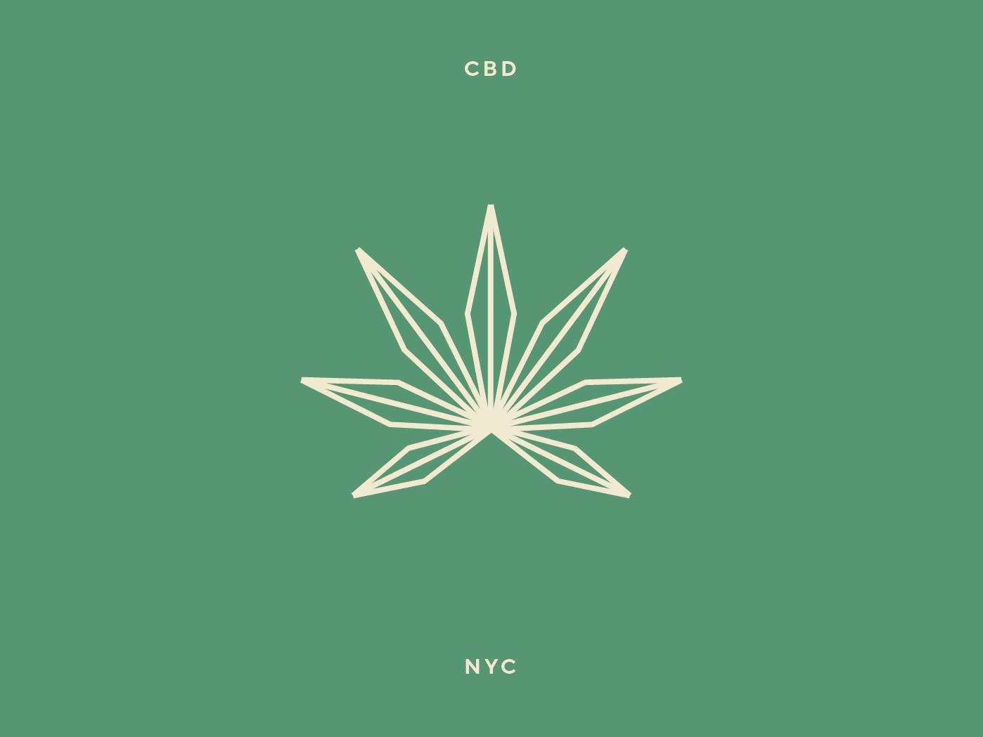 Marijuana leaf logo by Cristie Stevens on Dribbble