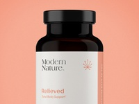 CBD Vitamin Supplement Brand + Packaging