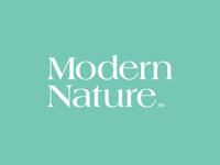 Modern Nature CBD Logo