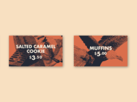 Bakery Price Cards