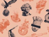 Bakery collage illustration