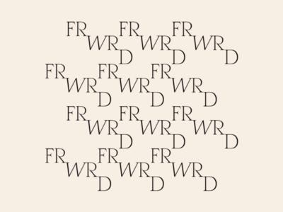 Logotype Pattern typography pattern skincare packaging brand type minimal brand identity branding logo