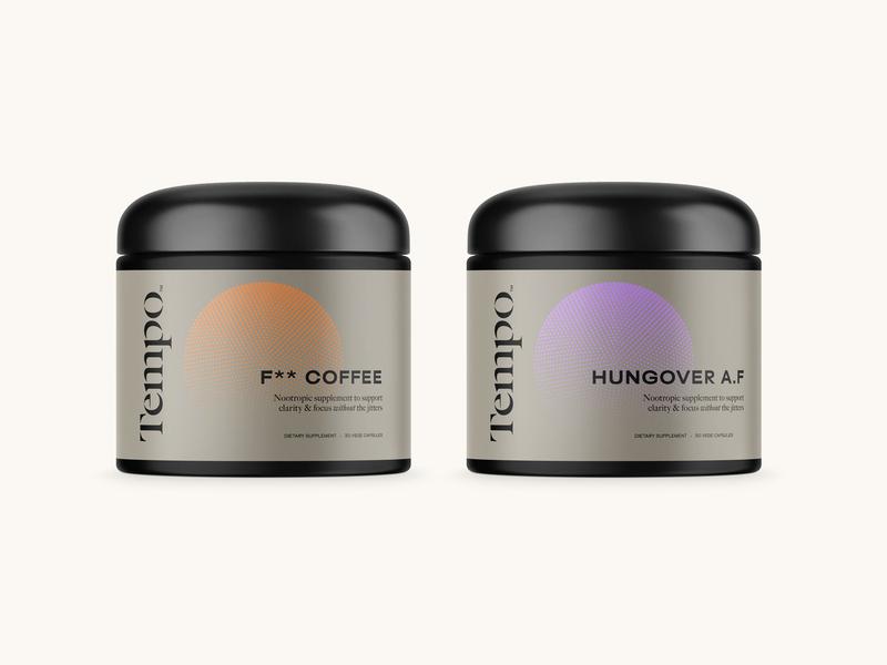 Supplement Packaging Concept vitamins retro supplements typography packaging type brand identity minimal branding logo