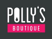 Pollys Boutique Logo Spacing