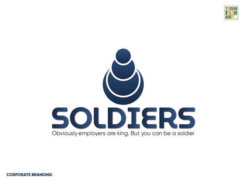 Corporate Branding - Soldiers Logo logo design vector logotype logoset logo illustration icon set corporate identity design clean design clean branding design branding concept branding and identity branding brand identity brand design brand 2020