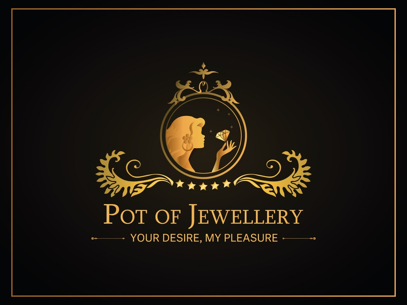 Port of Jewellery | Retro Logo vintage font vintage design luxury brand luxury logo vintage logo retro design retro logo logo design logotype logo vector illustration design clean 2020 branding clean design
