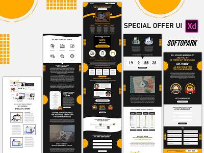 Special Offer UI ui  ux figma adobe xd web ui wordpress template website template ui design challenge app ux illustration ui ui design design 2020 clean branding clean design