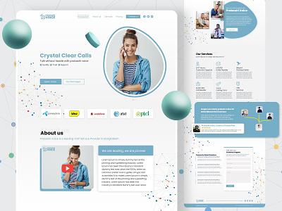 Crystal Clear UI dribbble popular clean design ux minimalism branding trendy ui 2021 best shot dribbble homepage website landing page clean ui agency creative clean