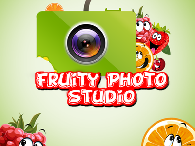 Fruity Photo Studio Logo game logo best logo logo design graphic design muhammadshafiq design illustration logo psd free branding