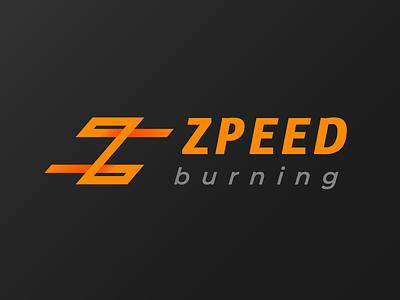 ZPEED Burning fitness logo z logo monogram monog gym logo logo maker logo designer logo design logodesign logo icons icon flat design branding