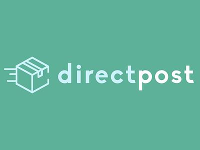 directpost. package logo trucking logodesign logo icons icon flat design branding