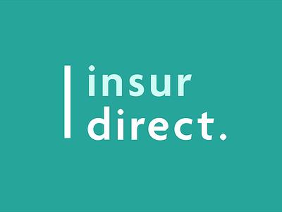 insurdirect. insurance ui vector illustration logodesign logo icons icon flat design branding