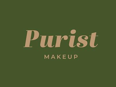 Purist Makeup beauty makeup vector illustration logodesign logo flat icons icon design branding