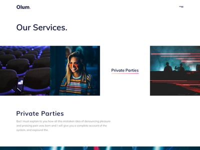 Olum - Business & Events Management Agency HTML Template free free figma free sketch template simple services organization modern minimal festival events design creative corporate clean business blog agency