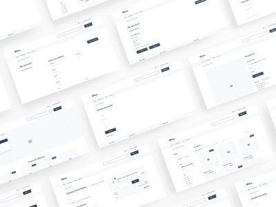 Wico - Shopify Wireframe for Figma wireframe wf web ux ui template simple shopify shop prototype kit figma ecommerce clean bootstrap