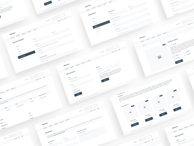 Woowire - WordPress WooCommerce Wireframe for Adobe XD xd woocommerce wireframe wf web ux ui template simple shop prototype kit clean bootstrap