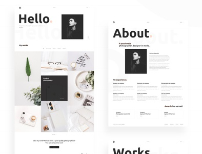 Oxer - Minimal Portfolio React JS Template ui sass reactjs portfolio photography personal portfolio multipurpose modern minimal freelancer creative clean business blog agency