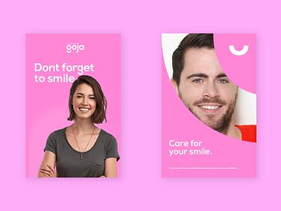 Goja Posters typography package minimal logo illustration design branding poster design poster