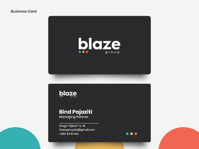 Business Card. visitcard graphic design businesscard vector typography minimal branding design