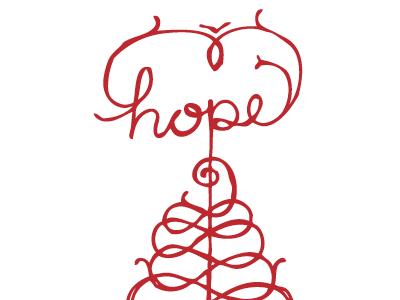 hope tag christmas hope