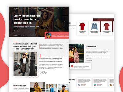 Designed of home page uniquecoderz webdesign website branding ui design logo design uxdesign uidesign tranding