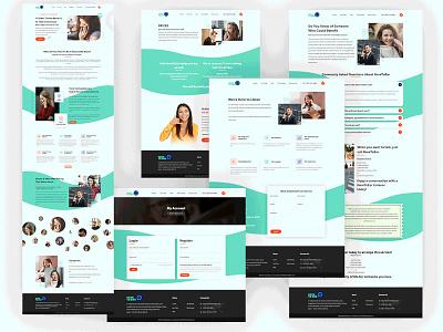Home Page design tranding uxdesign branding website design website uidesign
