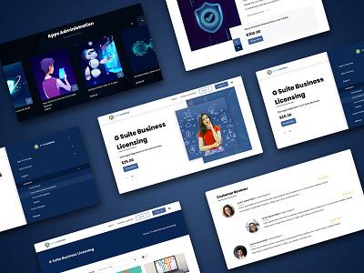 Home Page uniquecoderz dribble illustration branding design website design webdesign website tranding uidesign uiux