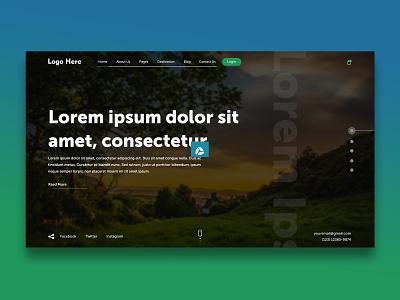 Banner Design vector logo illustration dribble design branding website design webdesign website uxdesign uidesign tranding