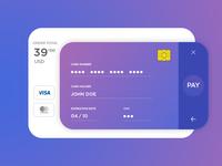 Payment UI Design Challenge