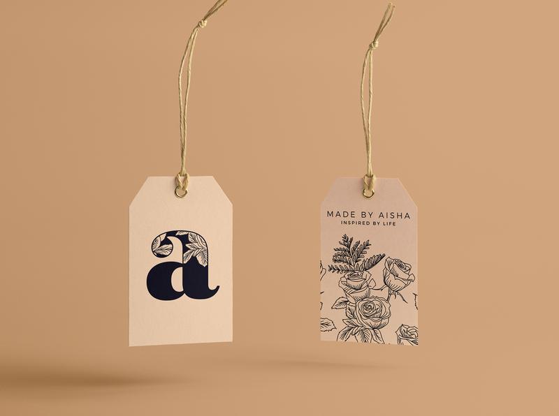 """""""Aisha"""" - Logo & Branding Design"""