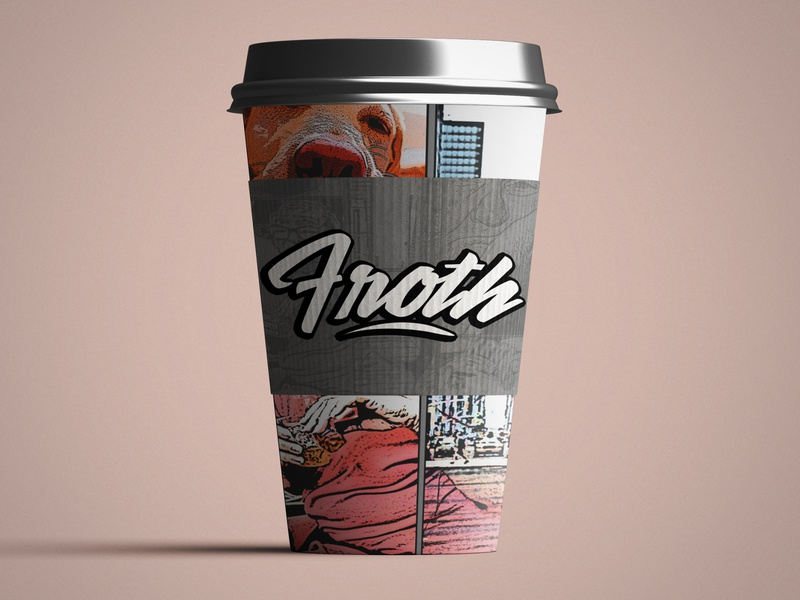 Froth Bar & Cafe - Logo Design