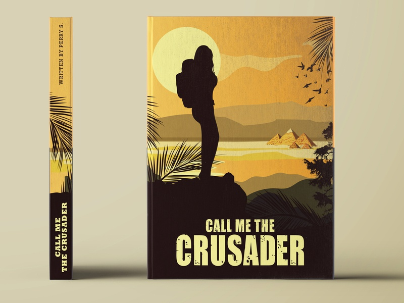 Call Me The Crusader - Book Cover Design