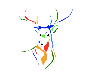 deer deer illustration graphic design deer illustration ai