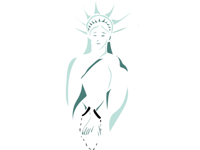 insurrection in washington usa freedom statueofliberty graphic design illustration ai
