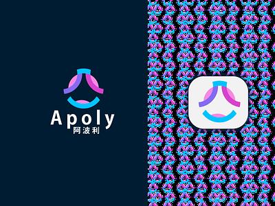 Apoly Logo Design minimal vector modern a logo minimalist logo app icon flat logo design logo brand identity branding